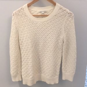Ivory sweater from banana republic